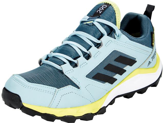 adidas TERREX Agravic TR Gore-Tex Zapatillas Trail Running Mujer, legacy blue/core black/yellow tint